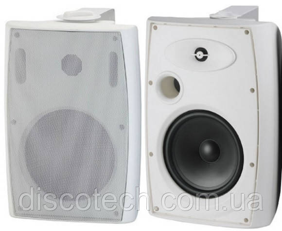 "Ак.система L-Frank Audio HYB125-6TAW 6,5"", 10-40Вт, 100В, белый"