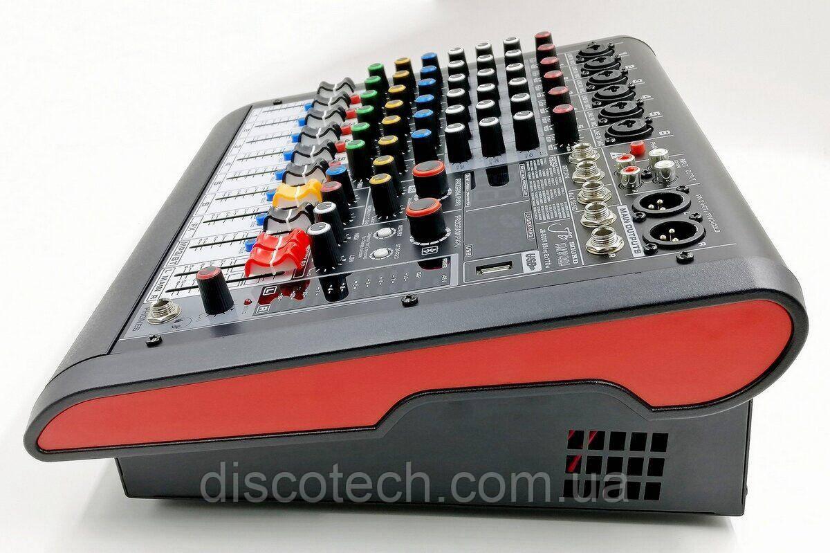 JB-600P JB sound Активний мікшерний пульт 6 каналів ,процесор ефектів 32-біт, 99DSP