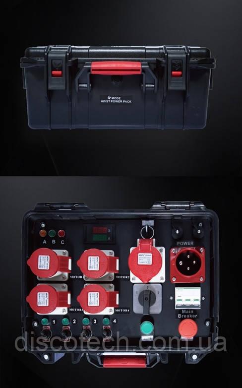 Групповой контроллер Mode-4W на четыре электрические лебедки Mode-611