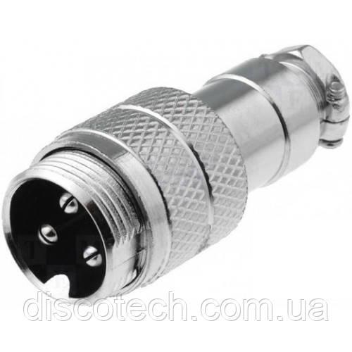 Конектор MIC-343 кабельний вилка