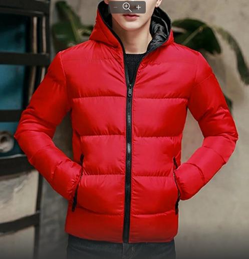 Мужская куртка с капюшоном на синтепоне весна -осень р.46-48