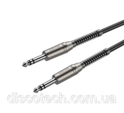 Готовый микрофонный кабель Roxtone SMJJ200L05, 2x0.22 кв.мм, вн.диаметр 6 мм, 0,5 м
