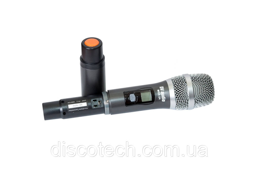 Ручной микрофон в металическом корпусе для радиосистем серии MGX, UHF