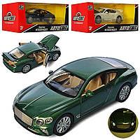 Машина метал. Bentley Continental