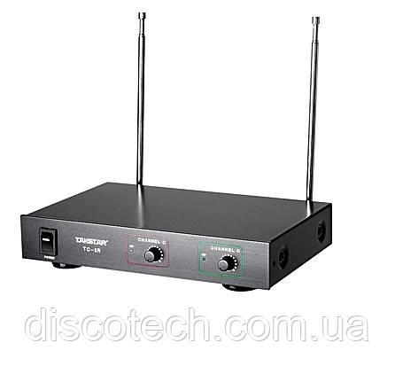 Приймач бездротовий мікрофонної системи Takstar TC-2R двоканальний