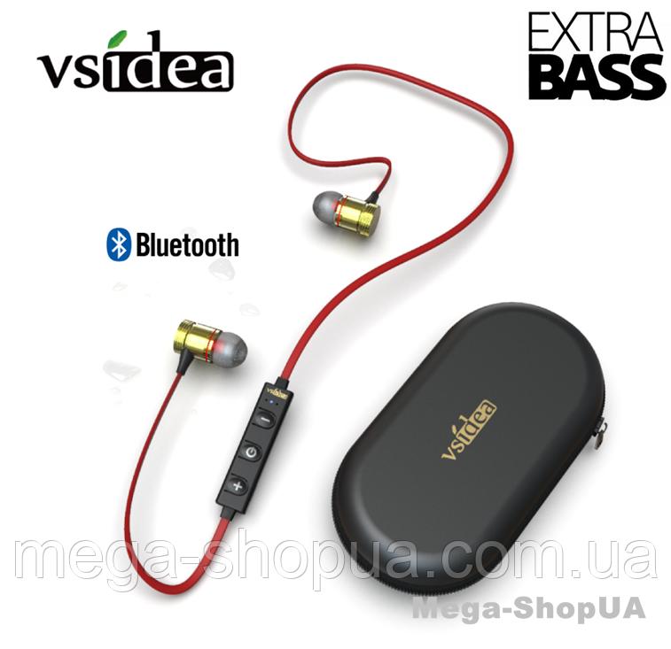 Наушники и гарнитура беспроводные Bluetooth + чехол DF43G. Вакуумные наушники. Бездротові навушники