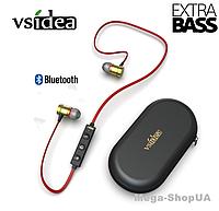 Наушники и гарнитура беспроводные Bluetooth + чехол DF43G. Вакуумные наушники. Бездротові навушники, фото 1