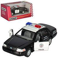 Машина метал. FORD Crown Police