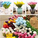 Штучні квіти (тюльпани, троянди, інше.)