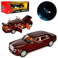 Машина метал. Rolls Royce Phantom