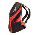 Рюкзак переноска для кота Красная 35*25*31 см, сумка переноска для собак   рюкзак переноска для котів (GK), фото 4