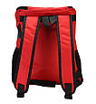 Рюкзак переноска для кота Красная 35*25*31 см, сумка переноска для собак   рюкзак переноска для котів (GK), фото 5