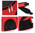 Рюкзак переноска для кота Красная 35*25*31 см, сумка переноска для собак   рюкзак переноска для котів (GK), фото 6