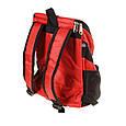 Рюкзак переноска для кота Красная 35*25*31 см, сумка переноска для собак   рюкзак переноска для котів (GK), фото 9