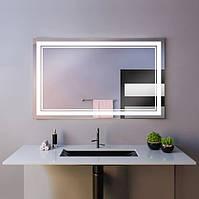 Зеркало настенное с LED подсветкой 1300 х 800 мм