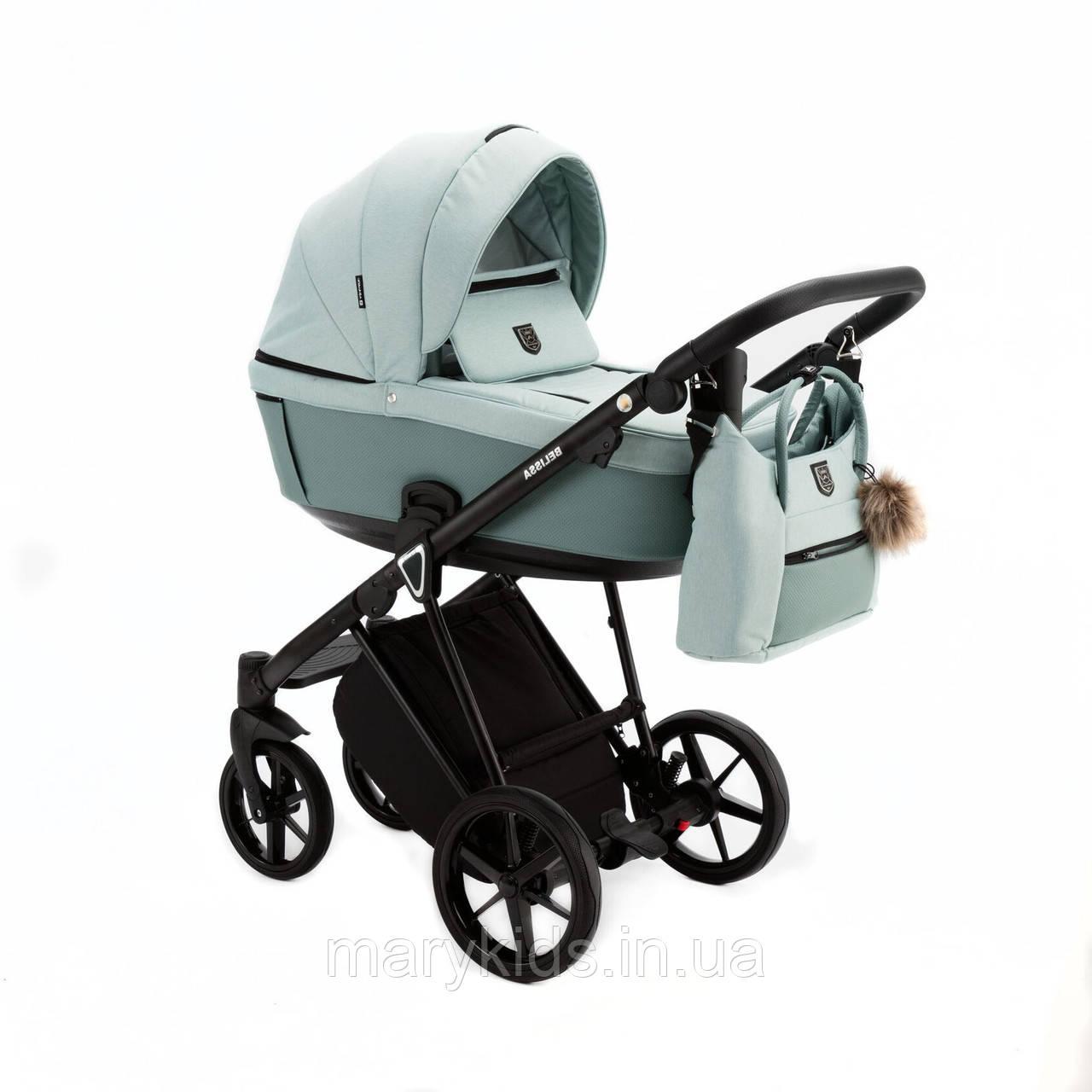 Дитяча універсальна коляска 2 в 1 Adamex Belissa PS-25