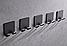 Алюминиевый настенный крючок. Модель RD-57008, фото 7