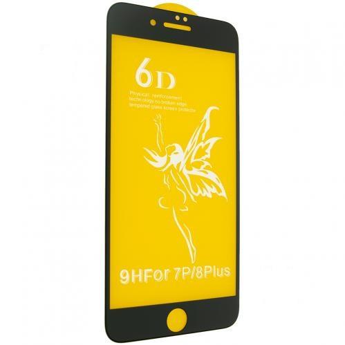 Скло 6D Premium - iPhone 7/8 Plus -білий, тех. упаковка