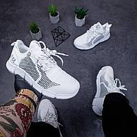 Кроссовки мужские спортивные весенние белые | Кеды мужские осенние Вервольф демисезонные ТОП качества, фото 1