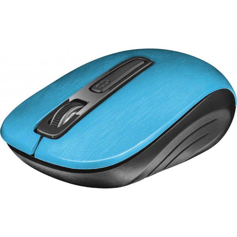 Миша бездротова Trust Aera (22373) Blue USB