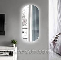 Зеркало настенное с LED подсветкой для ванной комнаты 1260 х 560 мм