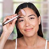Электрический ролик массажер для лица Flawless Facial Roller   Вибромассажер Flawless contour Флаулесс контур, фото 5