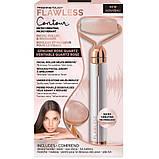 Электрический ролик массажер для лица Flawless Facial Roller   Вибромассажер Flawless contour Флаулесс контур, фото 7