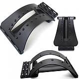 Тренажер Мостик для спины и позвоночника MAGIC BACK SUPPORT | Kорректор осанки 3 уровня гибкости, фото 3