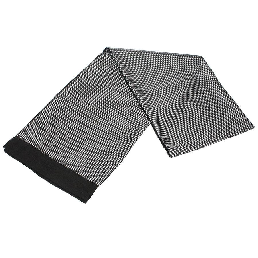 Сірий класичний чоловічий шарф 0200 Classic grey