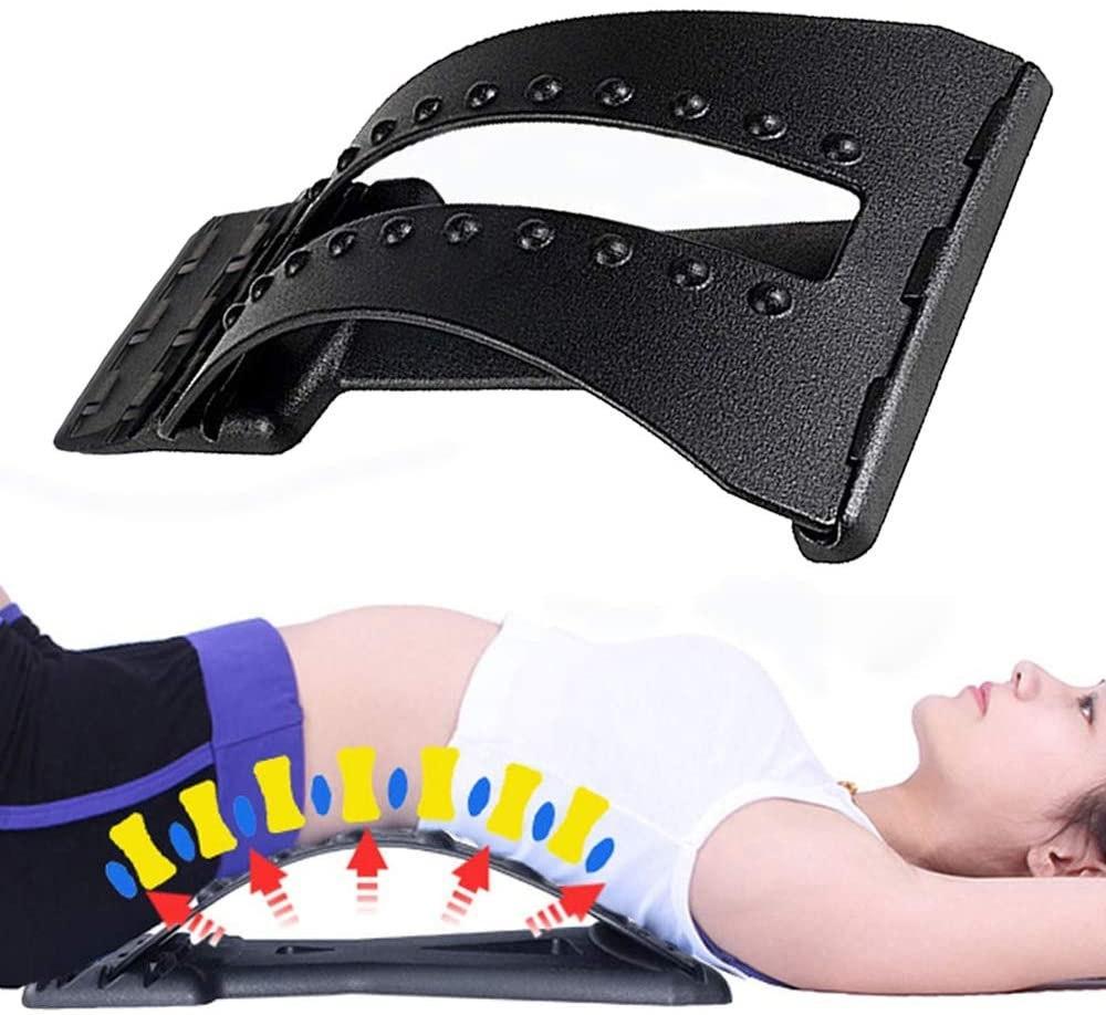 Тренажер Мостик для спины и позвоночника MAGIC BACK SUPPORT | Kорректор осанки 3 уровня гибкости