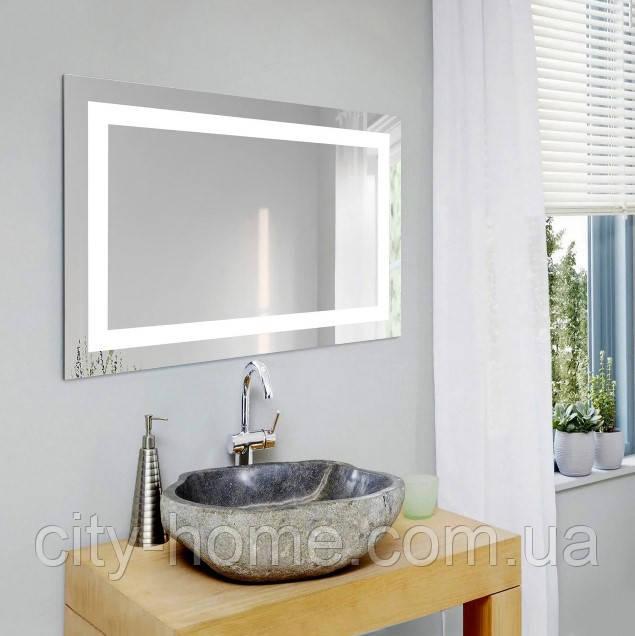Дзеркало  настінне з LED підсвічуванням 800 х 500 мм