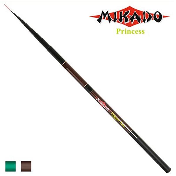 Вудилище безкільцеве болонське STENSON Princess Mikado 3.6 м 10-30 г 8к безкільцева вудка спінінг