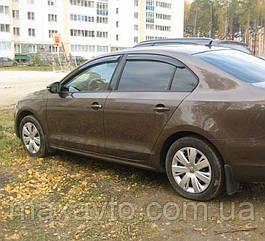 Ветровики VW Jetta VI Sd 2010/Sagitar 2012  дефлекторы окон