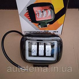 LED фара 30 Вт з габаритом
