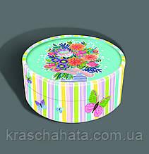 Подарочный тубус для конфет, Букет, Подарочная упаковка для конфет, 500-600 грамм