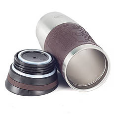 Термокружка з нержавіючої сталі Con Brio CB-364 (380 мл) | термочашка Con Brio | термос 0,38 л коричнева
