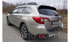 Ветровики Subaru Outback V 2015  дефлекторы окон