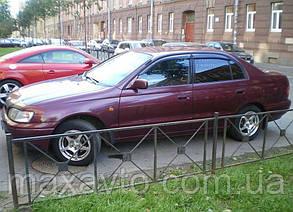Ветровики Toyota Corolla Sd 1997-2001  дефлекторы окон