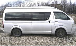 Ветровики Toyota Hiace (H200) 2004-2010;2010  дефлекторы окон