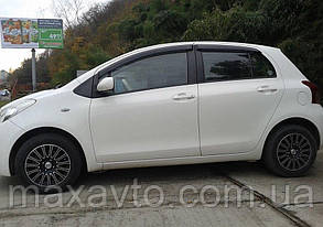 Вітровики Toyota Yaris/Vits II 5d 2005-2011 дефлектори вікон