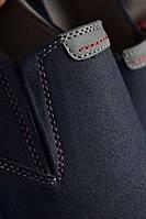 Туфли мужские 8 пар в ящике синего цвета 40-45, фото 3