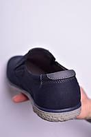 Туфли мужские 8 пар в ящике синего цвета 40-45, фото 4