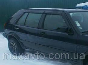 Вітровики VW Golf III 5d 1991-1998 дефлектори вікон