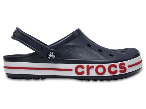 Подростковые кроксы Crocs Bayaband Clog синие 38 р.
