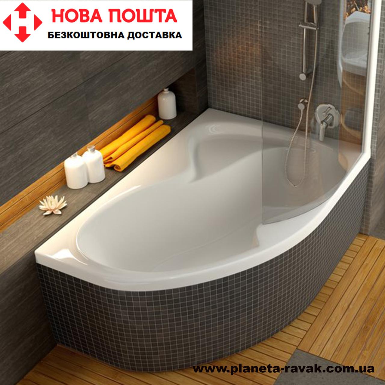 Ванна Rosa II R 160*105 см (ПРАВА)