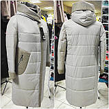 """Демісезонне пальто """"Софія"""" з кашеміровим коміром, фото 3"""