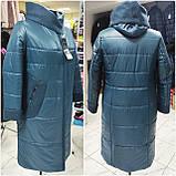 """Демісезонне пальто """"Софія"""" з кашеміровим коміром, фото 5"""