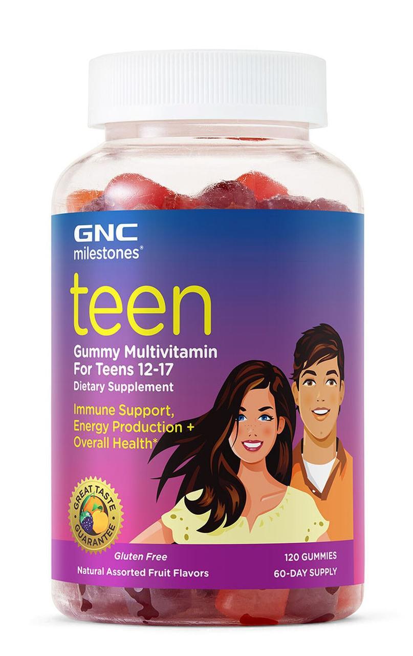 GNC Teen Gummy Multivitamin For Teens 12-17 Years 120 Gummies