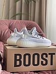 Жіночі кросівки Adidas Yeezy Boost 350 v2 (біло-сірі) спортивні демісезонні кроси 10196, фото 4