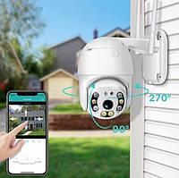 Уличная IP камера видеонаблюдения UKC CAMERA CAD N3 WIFI IP 360/90 2.0mp поворотная с удаленным доступом